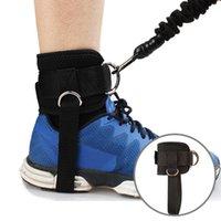 Cinturini di supporto alla caviglia Protezione del piede Piedi sportivi Guardia con cinturino per cavo Macchina per cavo Gamba per palestra Accessori per la formazione