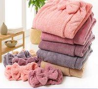 Towel Onesize Coral Velvet Tube Top Bath Shower Towels Women Microfiber Plain Skirt Dry Hair Cap Toalla Serviette De Plage