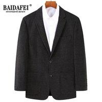 Men's Suits & Blazers Oversized 8XL 7XL 6XL 2021 Autumn Arrivals Brand Blazer Men Top Quality Loose Casual Business