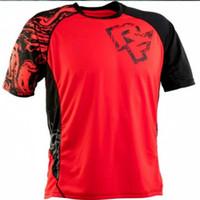 2020 Enduro Bisiklet Formaları Motocross Yarış Jersey Yokuş aşağı DH Kısa Kollu Bisiklet Giysileri MX Yaz MTB T-shirt FXR L0305
