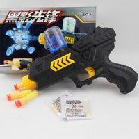 اليدوية البلاستيك المياه الكريستال جل لينة رصاصة الرماية مسدس لعبة بندقية مكبر نموذج الحرارة للأطفال الأولاد هدية عيد