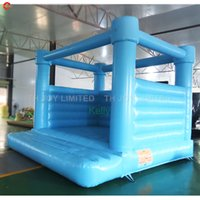 custom made colorful inflatable wedding bouncer for sale outdoor party events rental bounce house jumper