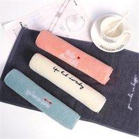 Towel Wholesale 10pcs Hand Cotton Soft Absorbent Kids School Luxury Washcloths Handkerchief Sweat Baby Shower