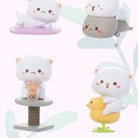 Blind Box Toys Mitao CAT Season 2 Conformed Version Cute Cartoon Pet Doll Model Girl Birthday Gift Guess Bag Caja Ciega