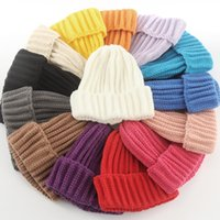 Female Womens Beanie Hat Knitted Autumn Winter Skull Cap One Size Fits Most