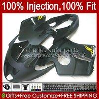 Carnies de molde de inyección para Honda Blackbird CBR1100 CBR 1100 XX 1100XX 96-07 26NO.33 CBR1100XX 1996 1997 1998 1999 2000 2001 1100cc 02 03 04 05 06 07 Bodys plana negro