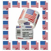 100 USPS Stamps Postage Forever 2018 USA New Sealed Roll Coil Stamps Corsage love