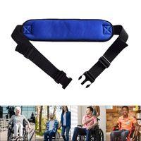 Cintura per sedia a sedia a rotelle regolabile Sedia a rotelle robusta cinghie con fibbia di rilascio facile per paziente anziani