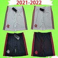 TOP TAILANDS 2021 2022 Pantalones cortos de fútbol Flamengo Patamá Guerrero Diego Vinicius JR Gabriel 21 22 NUEVO Flamenco Hogar de los terceros pantalones de fútbol