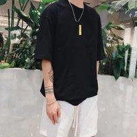Homens Streetwear T-shirt Homens Verão Verão Manga Curta Mulheres Camisetas Fitness Top Respirável Esporte Moda T-shirt Loose Letra Imprimir Hip-Hops Ins