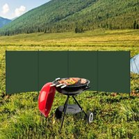Tents And Shelters Canvas Camping Windscreen Strong Luminous Fireproof Windproof Army Wind Deflectors Picnic Campfire Cooker Gas Stove Shiel