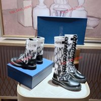 2021 Woman Knee boots Real Leather Boots Autumn winter fashion boots high quality shoes Casual Shoes EUR 35-41 ooX DIOR