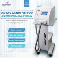 Professional Q switched ND yag laser tattoo removal machine 532nm 1064nm 1320nm 3 wavelengths lazer skin rejuvenation beauty equipment