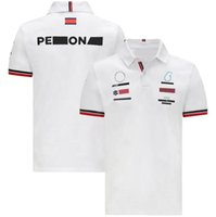 2021 new F1 racing team polo shirt short sleeve motorcycle lapel T-shirt polyester quick-drying customizable motorcycle riding polo short sl
