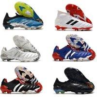 Predator Archive Limited Edition FG Zz Confortável Zidane David Beckham 23 20 + x Homens Soccer Sapatos Cleaves Botas de Futebol Tamanho 39-45