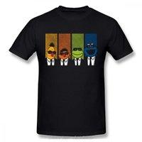 Camisetas para hombre Embalse Muppets Cookie Monster T-shirt para hombres Tallas grandes Camisa de grupo de algodón Camiseta de algodón Streetwear
