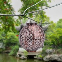 Jar décoratif Lanterne solaire à LED imperméable à l'eau extérieure avec chaude chapeau de paille chapeau de paille F5 chaude Lanternes de cordes 10 pouces - allumez votre terrasse, votre terrasse, votre jardin, votre jardin ou votre porche