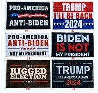Trump Bidingen 2024 Flaggen 90 * 150cm Trump Joe Biden US-Wahlfahne 6 Style-Unterstützung Anpassen von Customizing Jeder Banner Sea Shipping LLA417