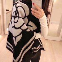 Moda Otoño e invierno 100% Cashmere Bufandas Diseñador Alto Quatity Mantenga cálido Solapa Bufandas para Mujeres Luxury Scarf Plaid Hijab Shawl