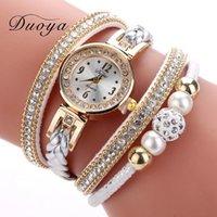 Designer Luxe Merk Horloges Hoge Kwaliteit Mooie Mode Vrouwen Armband Dames Casual Ronde Analoge Quartz-pols voor Klok