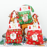 Christmas Gift Bags Wedding Candy Bag Gift Home Decorations Snowman cloth bags Festive Party Supplies