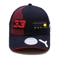 F1 Team Racing Hat 2021 Saison Nouveau Capuchon de baseball Courbe Chapeau Sun Machine Voiture Cross-Country Sports Voiture Casquette Plat