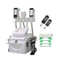 Новый 360 Cryolipolysize Body для похудения жира заморозить машину Охлаждающая формовка Вакуумная липосакция Ультразвуковая кавитация RF Lipo Лазерное оборудование