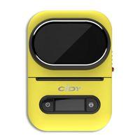 프린터 Cidy EQ11 미니 포켓 라벨 프린터 블루투스 휴대용 휴대용 핸드 헬드 열 PO 가정용 휴대 전화