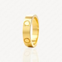 Charm Bridal Love Rings Womens Gold Wedding Ring Couple Jewelry Band Titanium Steel Diamonds Casual Fashion Street Classic Optional With Jewelrys Pouches