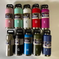 36oz Stainless Steel Water Bottles Double Vacuum Insulation Car Cup Outdoor Sport Leisure Portable Kettle Drinkware