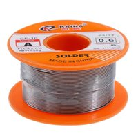 Circuitos integrados 0,6 / 0,8 / 1 / 1.2 / 1.5mm 63/37 Flux 2.0% 45FT Lata Fio de Chumbo Derretido Rosin Core Solder Solder Rolder