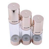 Armazenamento frascos frascos 1 pc 15/30/50 ml Vazio Airless Cosméticos Bomba de Garrafa de Plástico Processamento de Vácuo Vácuo Sub-garrafa