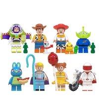 만화 미니 피규인 미니 픽트 벽돌 건물 블록 아이 교육 장난감 선물