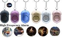 Selbstverteidigung 120dB Alarm Keychain für Frauen Mädchen Kinder Sicherheit Schutz Alarm Personal Safety SCREAM Laut Notfallalarm