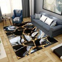 Carpets 3D Marble Pattern Livingroom Carpet Bedroom Bedside Decor Children Mat Kids Room Hallway Large Rug Outdoor Area