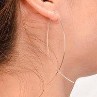 Reifen Huggie Echsun Legierung Ohrringe Pendientes Aretes de Mujer Oorbellen Vrouwen Abstrakte Kunst Damen Mode Einfache Schmuck Großhandel