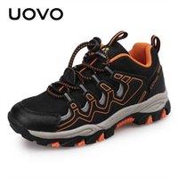 Uovo 소년 소녀 스포츠 어린이 신발 야외 통기성 아이들 하이킹 신발 봄과 가을 운동화 EUR # 27-39 210726