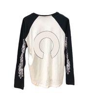CH Shirt a maniche lunghe da uomo di lusso a maglietta di alta qualità Lettera di animazione di alta qualità Modello stampato moda uomo donna unisex tees 9 stili