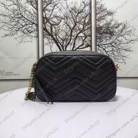 Çanta Kadın Çanta Moda Omuz Çantaları Üst Düzey Deri Çanta Çantalar Kayış Crossbody Çanta Seri Numarası Messenger Çanta ile Kutusu GB78