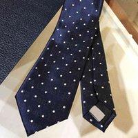 남성 넥타이 비즈니스 실크 넥타이 Luxurys 디자인 실크 넥타이 하이 엔드 남성용 액세서리 공식 경우 넥타이 패션 웨딩 파티 넥킹