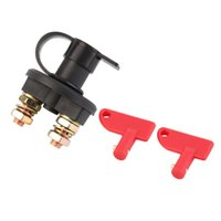 Smart Home Control 12V 24V Universal Automobile Car Truck Boat Battery Isolator Disconnect Cut Off Power Kill Switch Waterproof