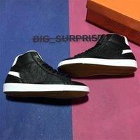 Top Qualität Männer Frauen Mitte 77 Vintage Leder Lässige Schuhe Mode Gute Spiel Serena Alle Halles Eve Sport Trainer Sneakers mit Kastengröße 36-45 EUR