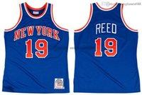 Stitched Willis Reed Jersey S-6XL Mitchell & Ness 1972-73 Mesh Hardwoods Classics retro basketball jerseys Men Women Youth