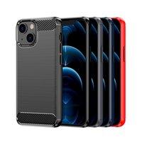 Koolstofvezel zachte mobiele telefoon gevallen TPU beschermende rug voor iphone 13 12 11 pro max xr xs Samsung note 20 S20 plus S10 S10E S21 Ultra S20FE note10 note10p A11 A70E A03S