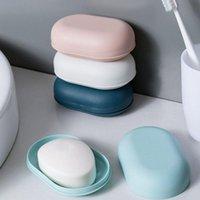 Neue Reise Seife Spülkasten Fallhalter Hygienic Einfache Runde Runde Seifenkiste Perle