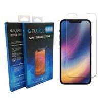 Protetor de tela X0908D para iPhone 13 3d vidro temperado mini pro máximo protetores de telefone celular 0.3mm com caixa de varejo / sacos de opp