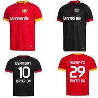 Bayer 04 Leverkusen Soccer Jerseys Havertz 20 21 Vollland Alario 2021 Fußball Hemd Bailey Diaby Men Jersey
