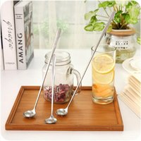 Spoons Durable Stirring Spoon Stainless Steel Long Handle Mixing Cocktail Shaker Ice Cream Tool Kitchen Accessories