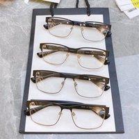 جديد 2021 النساء الرجال وصفة بصري الأصلي 0750 نظارات الإطار موهير gafas النظارات النظارات lentes oculos feminino