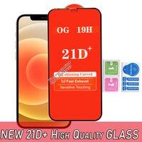 Высокое качество 21D плюс полная крышка закаленного стекла Защита экрана телефона Profifhone 12 11 Pro Max XR XS 6 7 8 Samsung A22 A32 A42 A52 A72 A12 A01 A01S A02 A02S